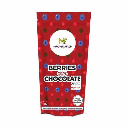 Berries com Chocolate - Monama - 80g