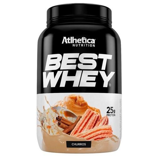 Best Whey 900g - Sabor Churros - Atlhetica Nutrition