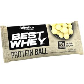 Best Whey Protein Ball 50g - Atlhetica - CHOCOLATE BRANCO