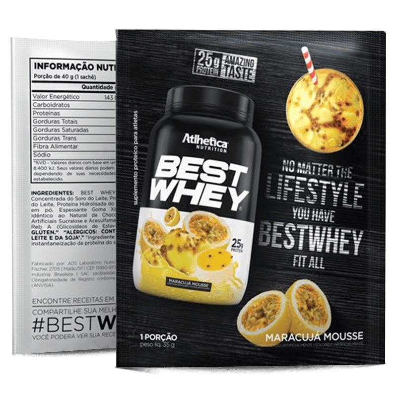 Best Whey (Unidade-35g) Atlhetica Nutrition