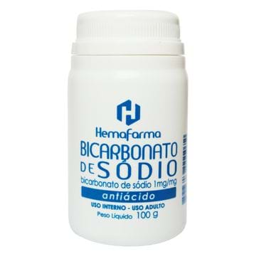 Bicarb Sodio 100g Hemafarma