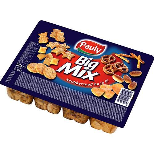 Big Mix 300g - Bandeja com 8 Tipos de Salgadinhos - Pauly