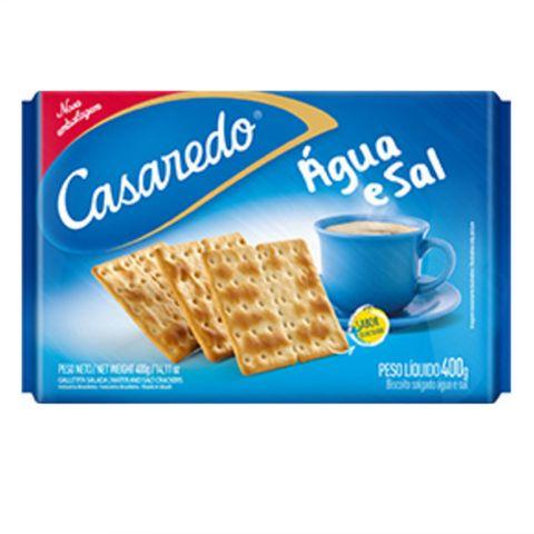Biscoito Agua e Sal 400g - Casaredo