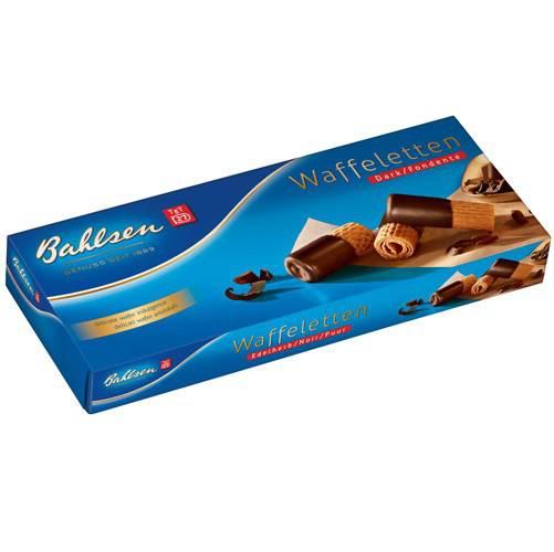 Biscoito Alemão Wafletten Dark 100g - Bahlsen