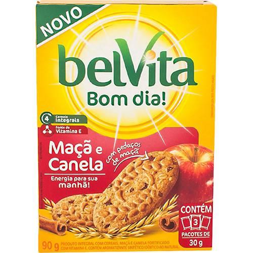 Biscoito Belvita Maçã e Canela 3 Unidades 30g (cada)