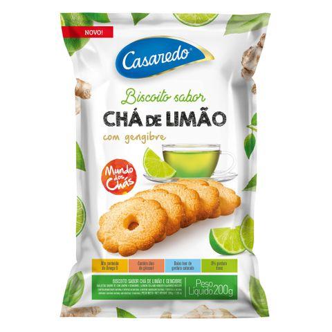 Biscoito Chá de Limão com Gengibre 200g - Casaredo