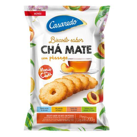 Biscoito Chá Mate com Pêssego 200g - Casaredo