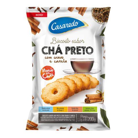 Biscoito Chá Preto com Cravo e Canela 200g - Casaredo