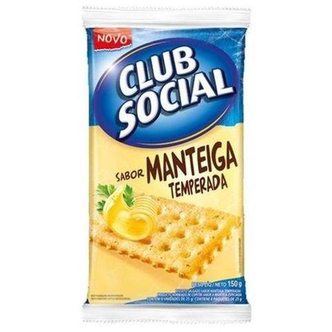 Biscoito Club Social Manteiga 23,5g C/6 - Nabisco