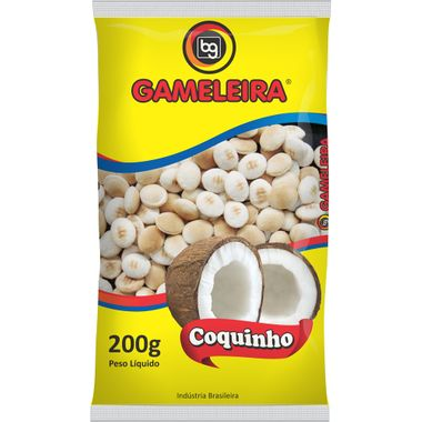 Biscoito Coquinho Gameleira 200g