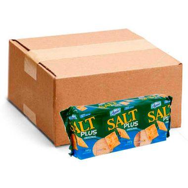 Biscoito Cracker Salt Águia 360g Cx. C/ 20 Pct.