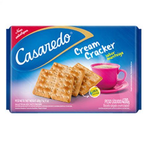 Biscoito Cream Cracker 400g - Casaredo