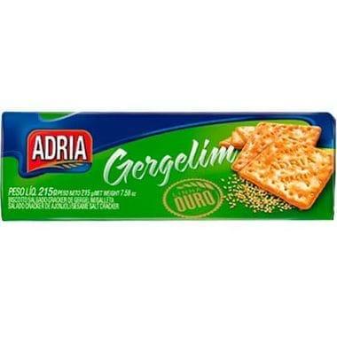 Biscoito Crackers Gergelim Adria 215g