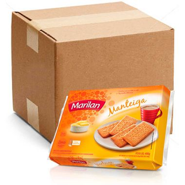 Biscoito Sabor Manteiga Marilan 400g