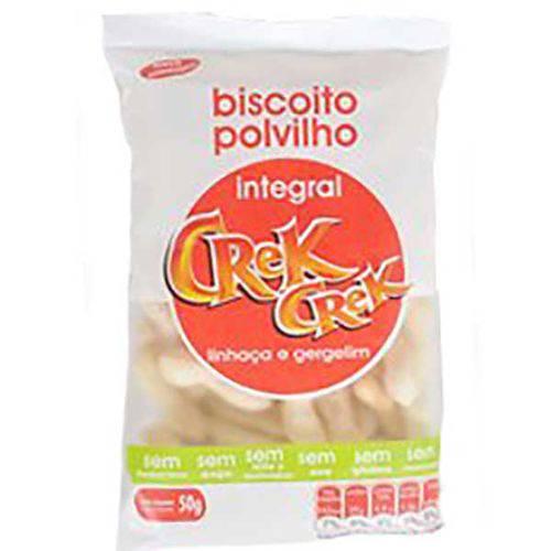 Biscoito de Polvilho Integral Linhaça e Gergelim Crek Crek 50g