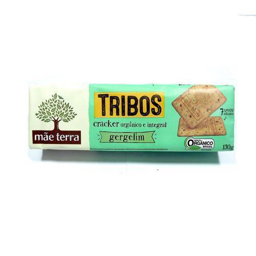 Biscoito Integral e Orgânico Gergelim Tribos Mãe Terra 130g