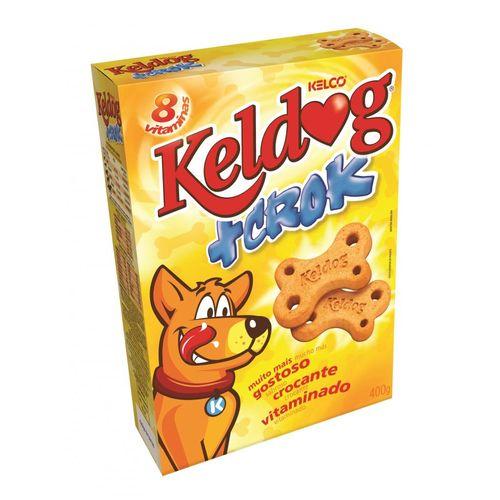 Biscoito Keldog + Crock 400g