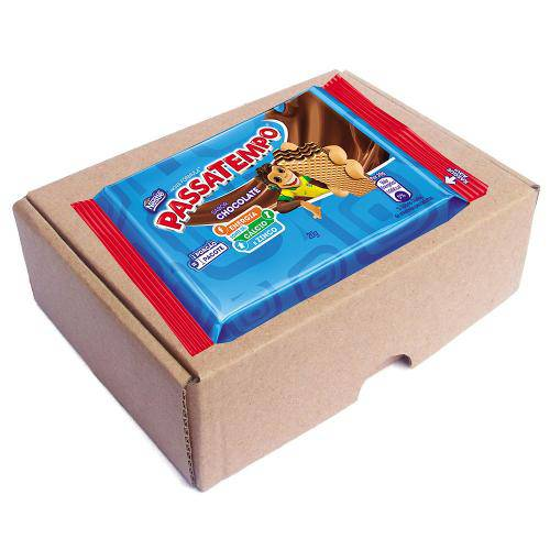Biscoito Nestlé Passatempo Wafer Morango 20g