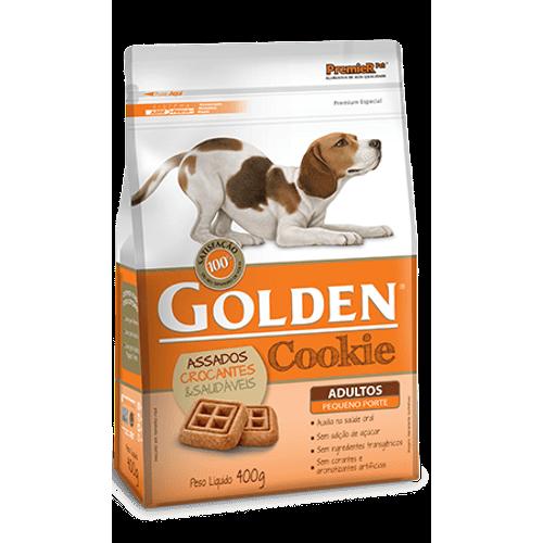 Biscoito Premier Pet Golden Cookie para Cães Adultos de Raças Pequenas 400g