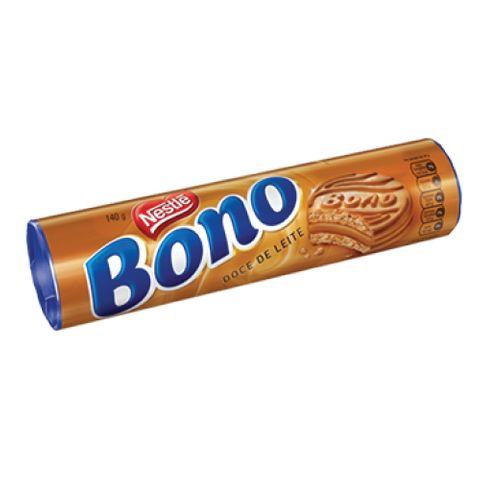 Biscoito Recheado Bono Doce de Leite 140g - Nestlé