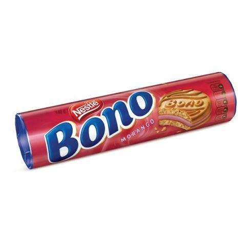 Biscoito Recheado Bono Morango 140g - Nestlé