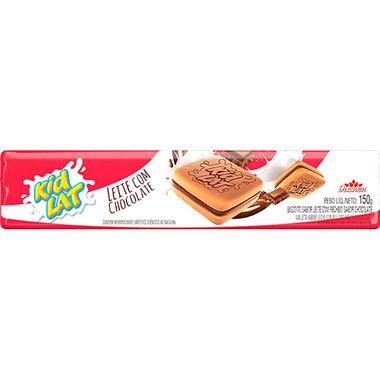 Biscoito Recheado Sabor Leite e Chocolate Kidlat Duchen 150g