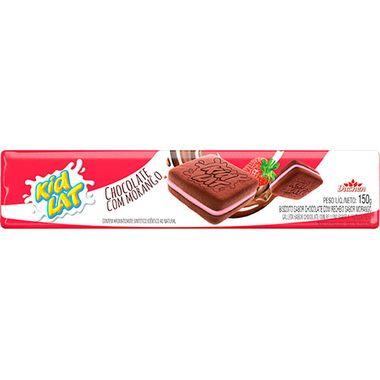 Biscoito Recheado Sabor Morango e Chocolate Kidlat Duchen 150g