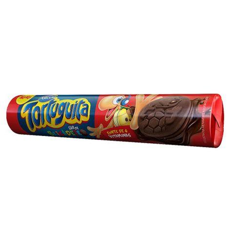 Biscoito Arcor Tortuguita Sabor Chocolate com 130g