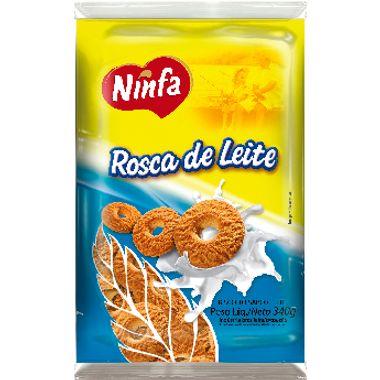 Biscoito Rosca de Leite Ninfa 340g