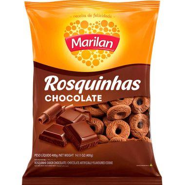 Biscoito Rosquinha Chocolate Marilan 400g