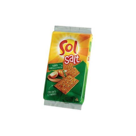 Biscoito Salt Cebola e Salsa 150g - Sol