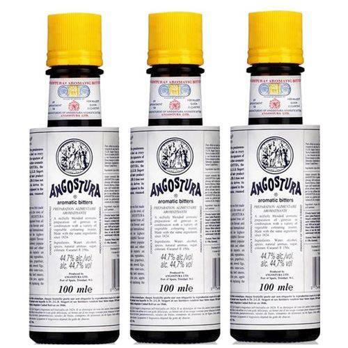 Bitter Angostura Aromatic 100ml 03 Unidades