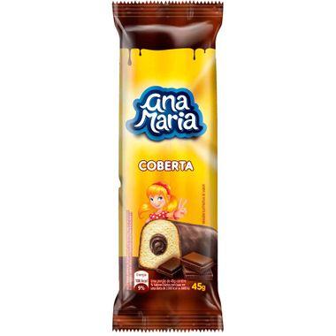 Bolinho Ana Maria Cobertura de Chocolate com 45g