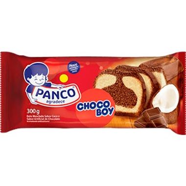 Bolo Chocoboy Panco 300g