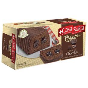 Bolo Clássico Sabor Chocolate Casa Suíça 370g