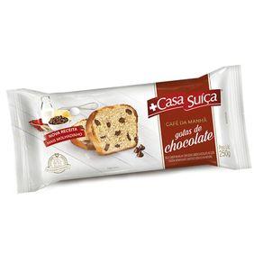 Bolo Gotas de Chocolate Café da Manhã Casa Suíça 250g