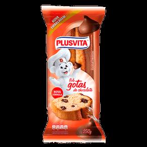 Bolo Plus Vita Gotas de Chocolate 250g