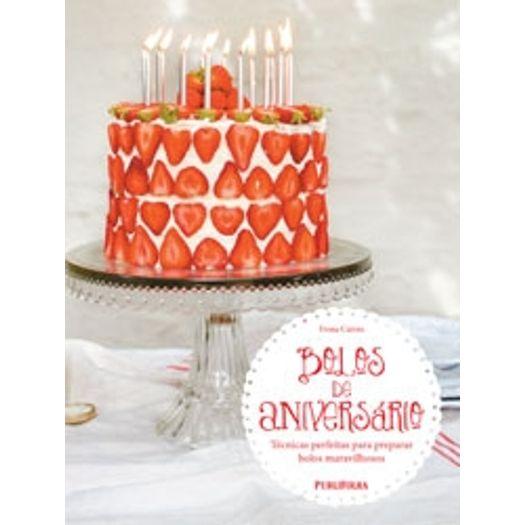 Bolos de Aniversario - Publifolha