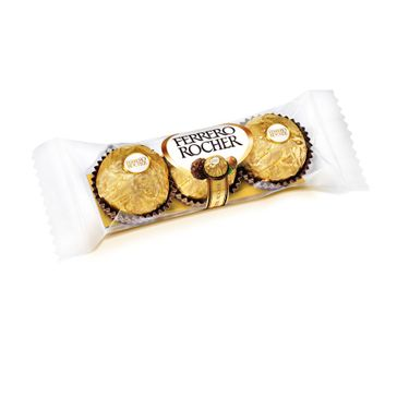 Bombom Ferrero Rocher com 03 Unidades