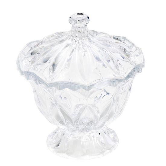 Bomboniere Cristal Louise com Pé 16,5cm X 18,5cm