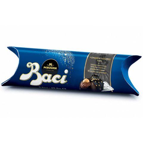 Bombons de Chocolate Extra Tube Dark 70% 42,9g - Baci