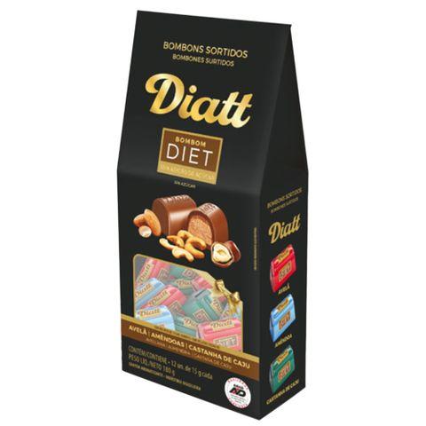 Bombons Sortidos Diet C/12 - Diatt