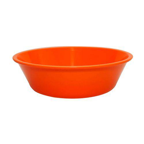 Bowl Basic Laranja 2 Litros Polipropileno - Linha Tropical