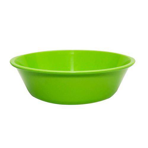 Bowl Basic Verde 2 Litros Polipropileno - Linha Tropical