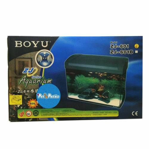 Boyu Aquario Zj-601 60l 110v Preto - Un