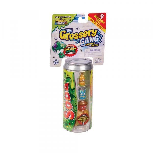 Brinquedo The Grossery Gang Regular Pack Lata 3894 - Dtc