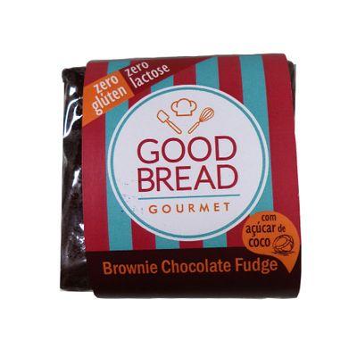 Brownie de Chocolate Fudge C/ Açúcar de Coco 25g - Good Bread