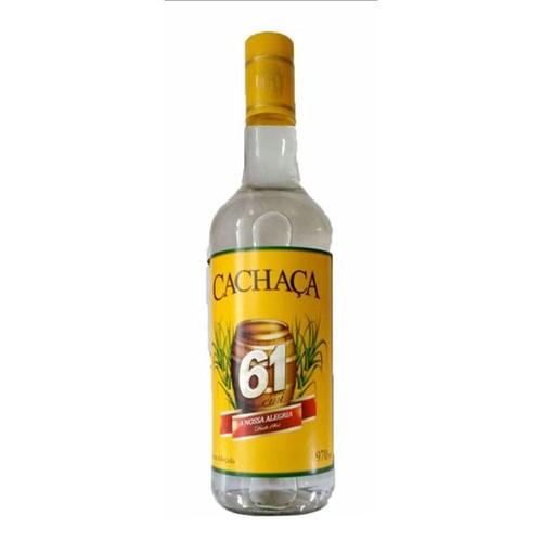 Cachaca 61 970ml