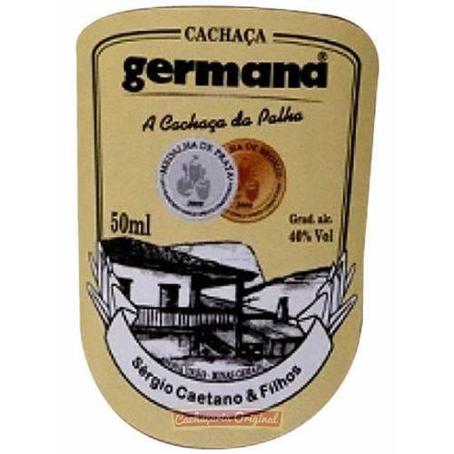 Cachaça Germana Palha 50ml