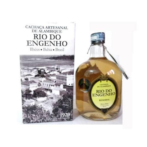 Cachaça Rio do Engenho - Ouro - 670ml (na Caixa)